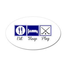 Eat, Sleep, Play - Field Hockey Wall Decal