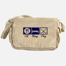 Eat, Sleep, Play - Field Hockey Messenger Bag