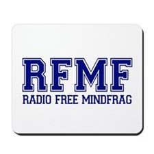 RADIO FREE MINDFRAG Mousepad