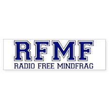 RADIO FREE MINDFRAG Bumper Bumper Sticker