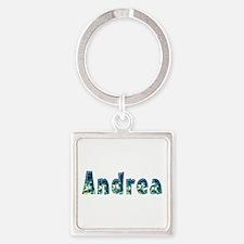 Andrea Under Sea Square Keychain