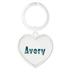 Avery Under Sea Heart Keychain