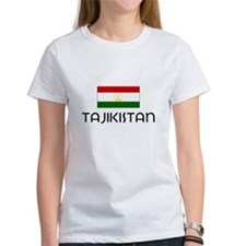 I HEART TAJIKISTAN FLAG T-Shirt