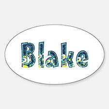 Blake Under Sea Oval Decal