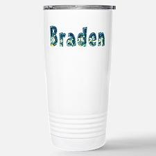 Braden Under Sea Stainless Steel Travel Mug