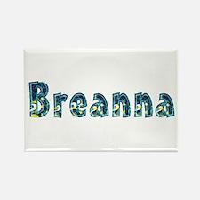 Breanna Under Sea Rectangle Magnet