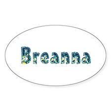 Breanna Under Sea Oval Decal