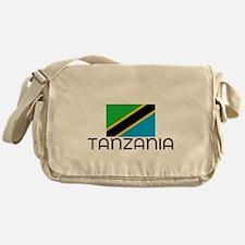 I HEART TANZANIA FLAG Messenger Bag