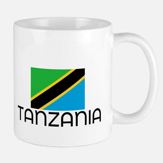 I HEART TANZANIA FLAG Mug
