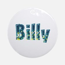 Billy Under Sea Round Ornament