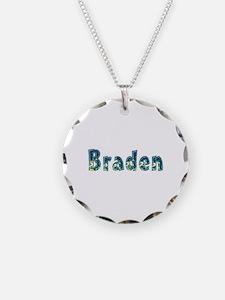 Braden Under Sea Necklace Circle Charm