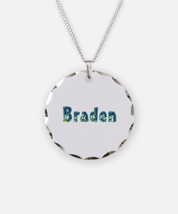 Braden Under Sea Necklace Circle Charm