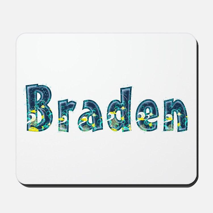 Braden Under Sea Mousepad