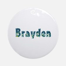 Brayden Under Sea Round Ornament