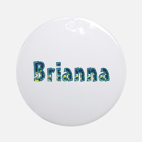 Brianna Under Sea Round Ornament