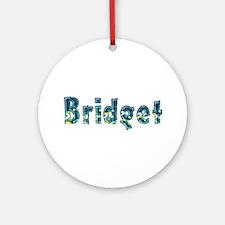 Bridget Under Sea Round Ornament