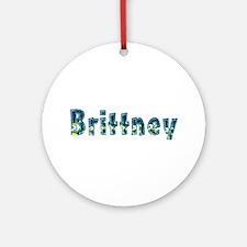 Brittney Under Sea Round Ornament