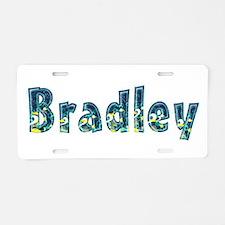 Bradley Under Sea Aluminum License Plate