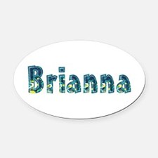 Brianna Under Sea Oval Car Magnet