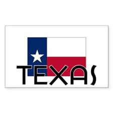 I HEART TEXAS FLAG Decal