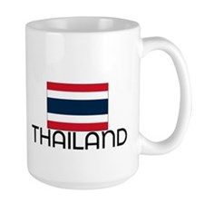 I HEART THAILAND FLAG Mug