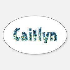 Caitlyn Under Sea Oval Decal