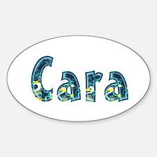 Cara Under Sea Oval Decal
