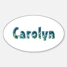 Carolyn Under Sea Oval Decal