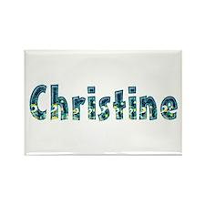 Christine Under Sea Rectangle Magnet