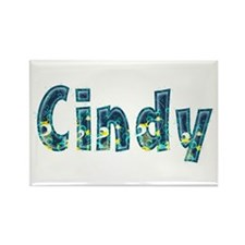 Cindy Under Sea Rectangle Magnet