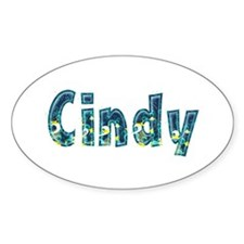 Cindy Under Sea Oval Decal
