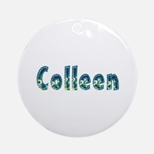 Colleen Under Sea Round Ornament