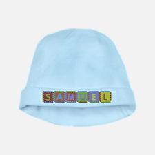 Samuel Foam Squares baby hat