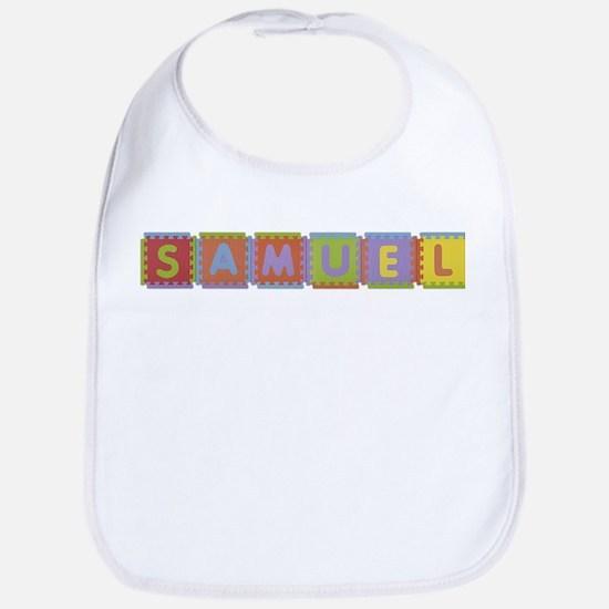 Samuel Foam Squares Bib