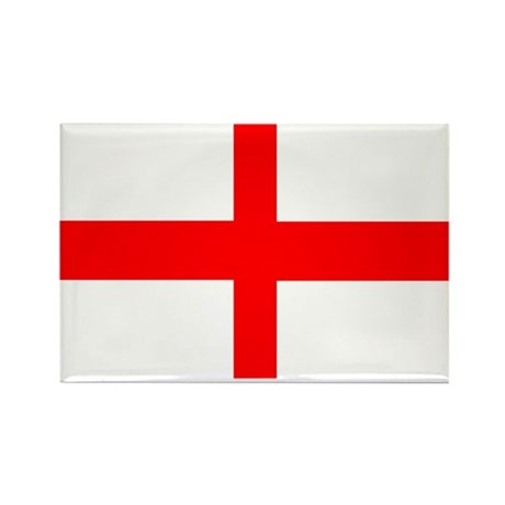 England St George Rectangle Magnet (100 pack)