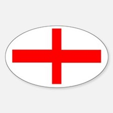 England St George Oval Decal
