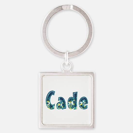 Cade Under Sea Square Keychain