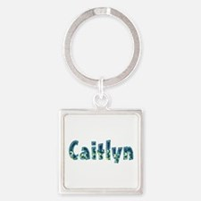 Caitlyn Under Sea Square Keychain