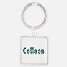Colleen Under Sea Square Keychain