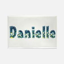 Danielle Under Sea Rectangle Magnet