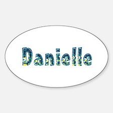 Danielle Under Sea Oval Decal