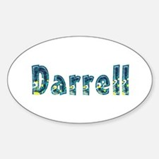 Darrell Under Sea Oval Decal