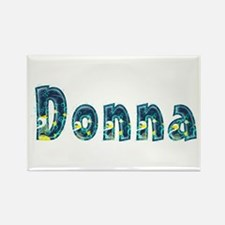 Donna Under Sea Rectangle Magnet