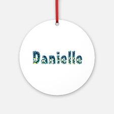 Danielle Under Sea Round Ornament