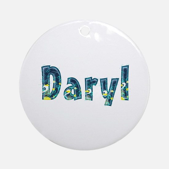 Daryl Under Sea Round Ornament