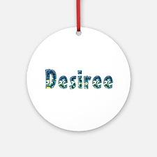 Desiree Under Sea Round Ornament