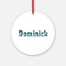 Dominick Under Sea Round Ornament