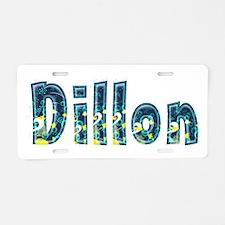 Dillon Under Sea Aluminum License Plate