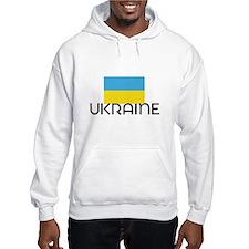 I HEART UKRAINE FLAG Hoodie