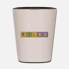 Rylee Foam Squares Shot Glass